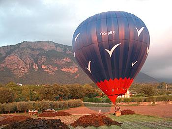 Ballonfahrt in Le Marche